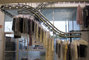 Get your dry cleaning done fast!