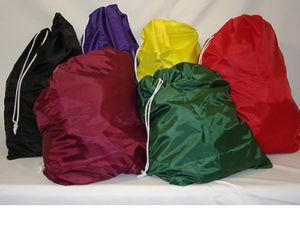 Nylon laundry bags may not be the same as shown in the image