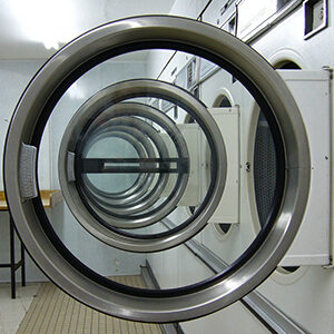 multiple washing machines at coin laundry kingston