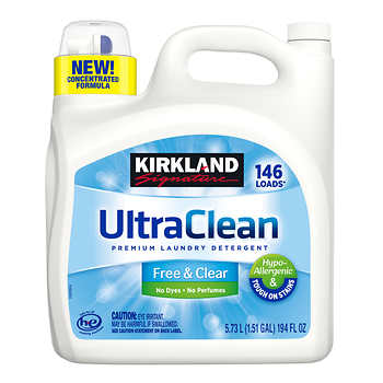 Kirkland was the best detergent for babies