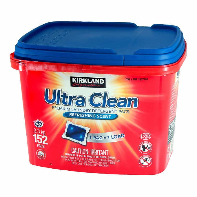 Kirkland Signature Ultra clean won the award for the best laundry to use for best value